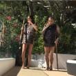 Dani Alves, ballo demenziale con la moglie in vacanza3