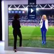 Euro 2016, effetto ottico in tv dallo studio allo stadio2