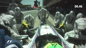 Formula Uno Williams, pit stop da record5