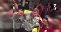 YOUTUBE Inghilterra fuori Euro 2016, giocatori Galles esultano