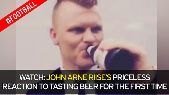 John Riise beve birra per prima volta: ecco la sua reazione6
