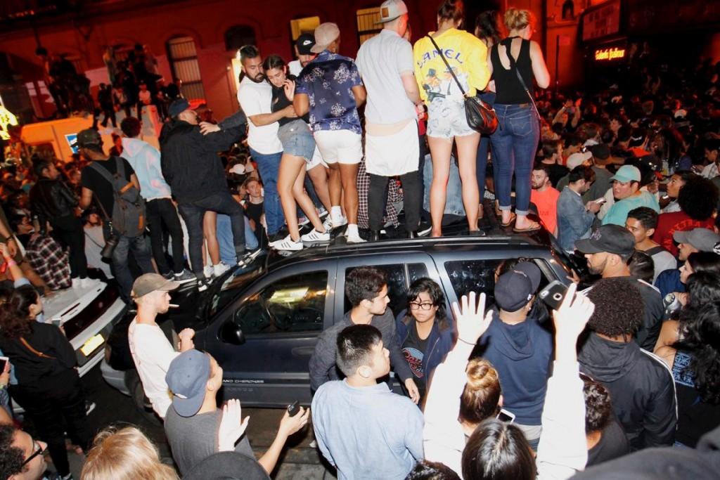 Kanye West, concerto a sorpresa: caos a Manhattan4
