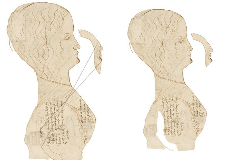 Leonardo, scoperto suo profilo: è nel Codice Atlantico 2