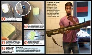 Guarda la versione ingrandita di Londra, arrestata guardia regina: FOTO in cui innesca bomba