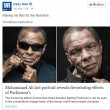 Muhammed Ali, ultime FOTO mostrano gli effetti del Parkinson2