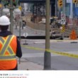 Ottawa, voragine in strada: auto inghiottita2