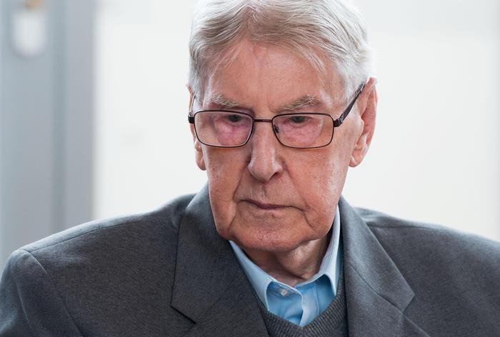 Reinhold Hanning, ex guardia Auschwitz condannata a 5 anni