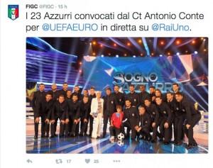 Euro 2016, Nazionale Italiana: foto ufficiale a Coverciano