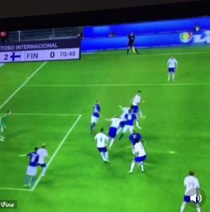 Il gol di Daniele De Rossi