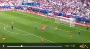 Guarda la versione ingrandita di Duda VIDEO gol Galles-Slovacchia 1-1 (Euro 2016)