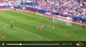 Duda VIDEO gol Galles-Slovacchia 1-1 (Euro 2016)