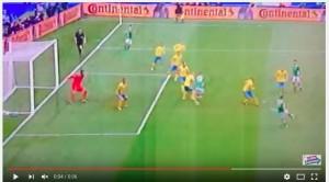 Wes Hoolahan VIDEO gol Irlanda-Svezia 1-0