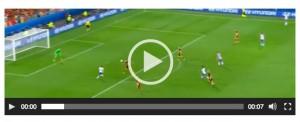 Emanuele Giaccherini VIDEO gol Belgio-Italia 0-1