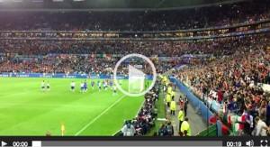 Belgio-Italia 0-2, Buffon: esultanza eccessiva e rischio infortunio VIDEO