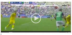 McGinn VIDEO gol Ucraina-Irlanda del Nord 0-2