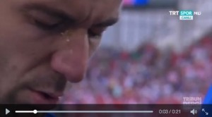VIDEO Srna, lacrime per ricordare papà morto durante Euro 2016
