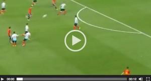 Nolito VIDEO gol Spagna-Turchia 2-0
