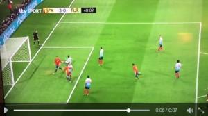 Guarda la versione ingrandita di Alvaro Morata VIDEO gol Spagna-Turchia 3-0: doppietta