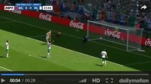 Carrasco VIDEO gol annullato in Belgio-Irlanda