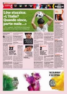"""Euro 2016, Löw stuzzica l'Italia: """"Quando vince, parte male..."""""""