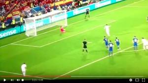 Sergio Ramos VIDEO rigore Croazia-Spagna: Subasic para, Srna-Modric suggeritori