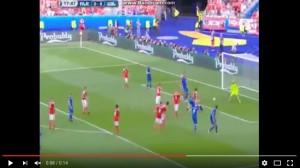 Guarda la versione ingrandita di Bodvarsson VIDEO gol Islanda-Austria 1-0