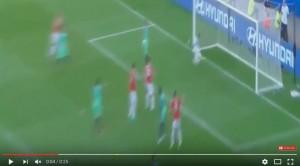 Dzsudzsak VIDEO gol Ungheria-Portogallo 3-3