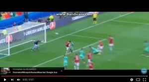 Guarda la versione ingrandita di Cristiano Ronaldo VIDEO gol Ungheria-Portogallo 3-3