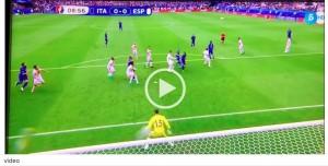 Italia-Spagna, VIDEO: miracolo di De Gea su Graziano Pellè