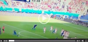 Giorgio Chiellini VIDEO gol Italia-Spagna 1-0