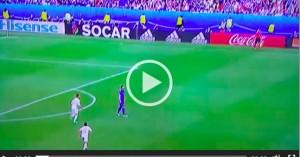 Graziano Pellè VIDEO gol Italia-Spagna 2-0