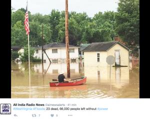 YOUTUBE Usa, inondazioni in West Virginia: decine di morti FOTO