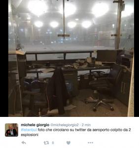 YOUTUBE Turchia, a Istanbul spari ed esplosioni all'aeroporto Ataturk