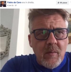 Gomorra, Fabio De Caro insultato per quel che fa Malammore