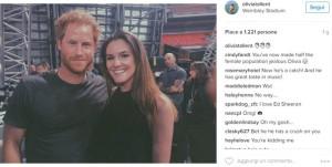 Selfie con Harry Divento principessa