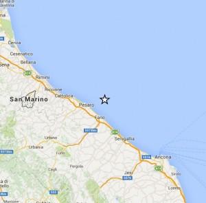 Terremoto Pesaro, scossa di magnitudo 2,6