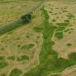 Trincee della prima guerra mondiale ancora visibili VIDEO drone5