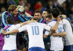Guarda la versione ingrandita di UEFA Euro 2016, quando gioca l'Italia