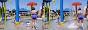 YOUTUBE Babysitter tortura bimba all'acqua-park mamma lo scopre grazie al VIDEO