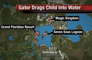 """Disney World, """"Ho cercato di salvare mio figlio dall'alligatore, me l'ha portato via"""""""