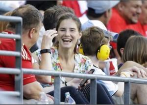 Copa America, Amanda Knox sugli spalti a Seattle