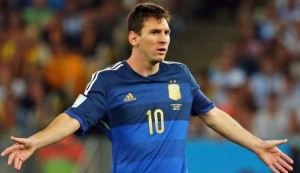 Argentina-Cile, streaming diretta tv: dove vedere Copa America 2016 Messi nella foto Ansa
