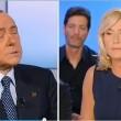 """Berlusconi a L'Aria che tira: """"Non mi sposo3"""