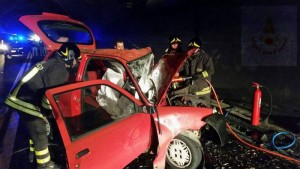 Incidente mortale sulla Nuoro-Mamoiada: un morto e due feriti