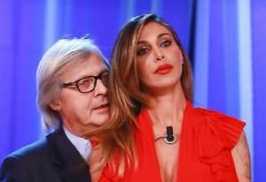 Belen Rodriguez, no a Vladimir Luxuria da Maurizio Costanzo