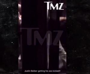 VIDEO YOUTUBE Justin Bieber fa a pugni con un uomo