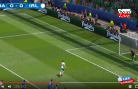 Brady VIDEO gol rigore Francia-Irlanda 0-1: Pogba fallo