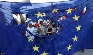 Dimostrazione anti Ue a Londra