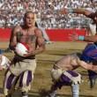 Calcio storico: muscoli, botte e terra. FOTO e VIDEO