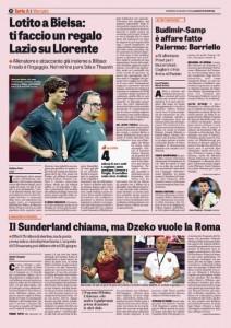 Calciomercato Lazio, Fernando Llorente con Marcelo Bielsa